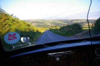 Near Grosmont, the beauty of the Moors start to unfold