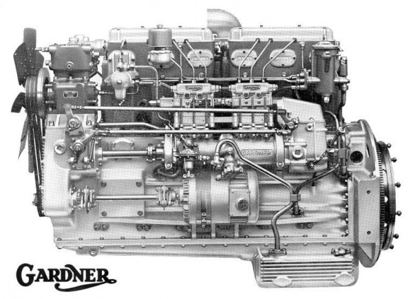 Best of British : Gardner 6LX diesel engine