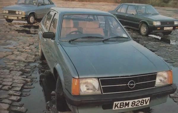 Opel Kadett vs Austin Allegro vs Colt Lancer