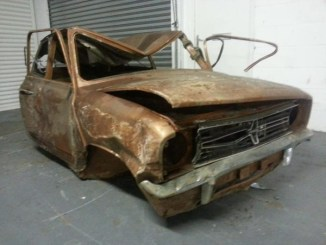 This Clubman has been rescued from the Longbridge tunnels, making it the last 'new' Mini to leave the factory.