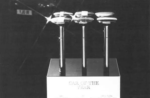 International Car of The Year award has been running since 1964