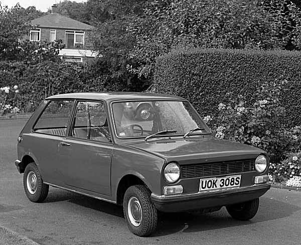 Austin-Morris story 1968: Issigonis 9X