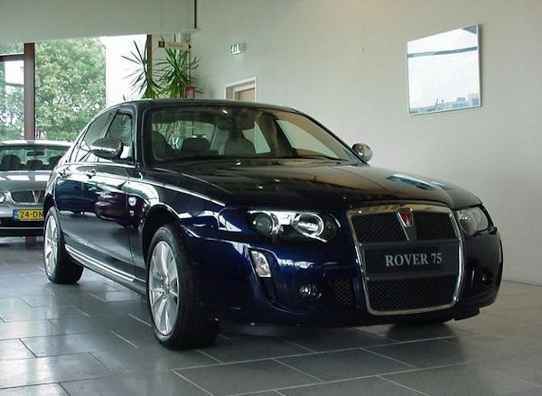 news delivery miles rover 75 v8 for sale aronline. Black Bedroom Furniture Sets. Home Design Ideas