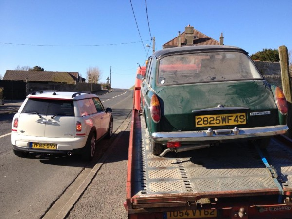 Clubvan and Austin 1300 (1)