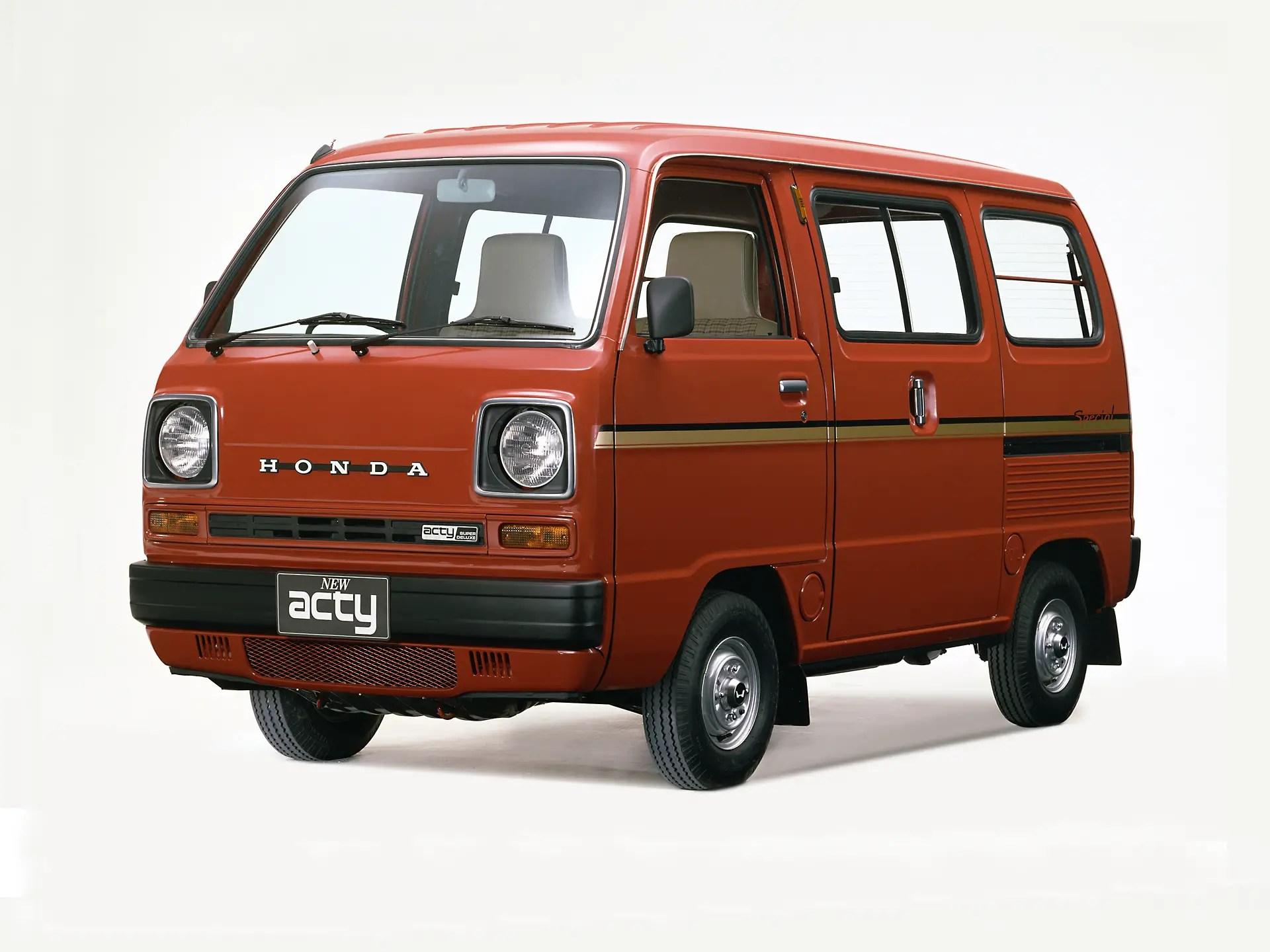 Unsung Heroes : Honda TN/Acty Van