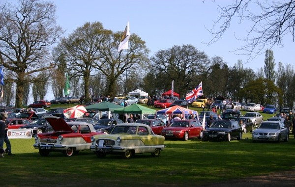 Pride of Longbridge 2012 - more than 1000 vehicles attended the show