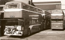 An early Atlantean showing the compact engine / transmission & cooling system.