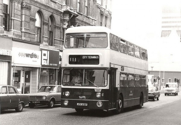West Midlands PTE bought the Coventry designed Fleetline in huge numbers most with locally made MCW bodywork.