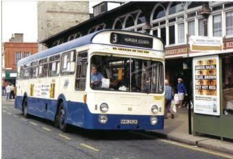 Single deck Fleetlines were not as numerous as the double. Darlington bought three batches in `69 `70 & `72