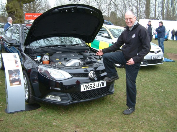 Ian Pogson from SAIC UK couldn't resist a Woollard!
