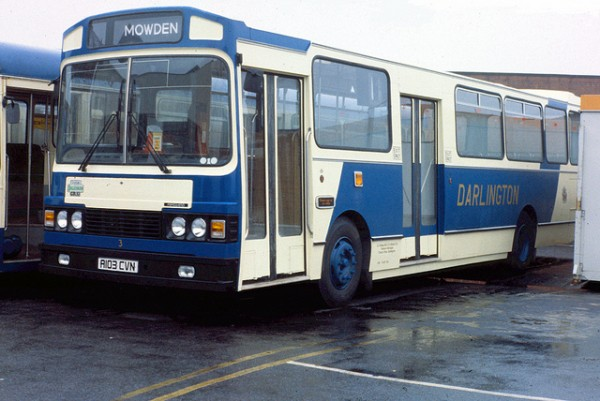 The Dalesman GRX1 was a good bus but only six were produced - all to one customer before Ward folded.