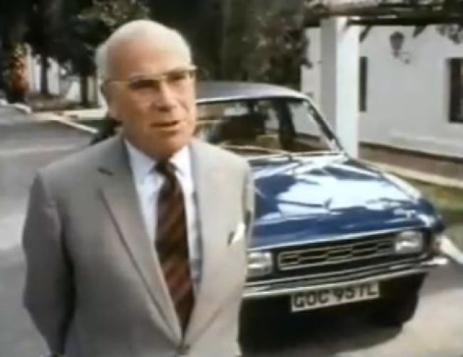 Austin Allegro launch and growing pains. Lord Stokes speaking at the launch of the Austin Allegro in May 1973