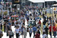 The Goodwood crowds
