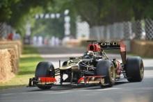 Lotus-Renault F1 car