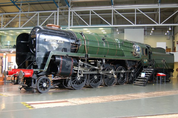 York contains the largest collection of locos and rail artefacts in the world including the last BR steam loco class 9F 'Evening Star' built in 1960.