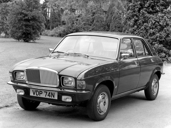 The Vanden Plas 1500 was British Leyland's only major UK launch in 1974 - 40 years ago...