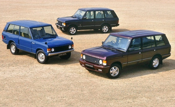 The cars : Range Rover development story