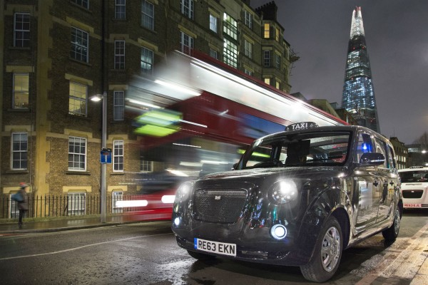 Metrocab night London