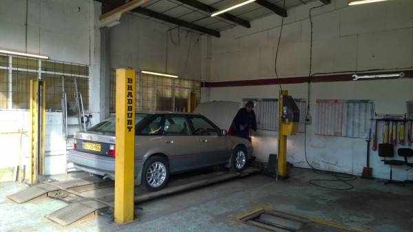 Despite my usual angst and fretting, shes gained her 21st MOT certificate.