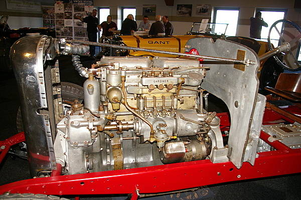 Gardner Diesel engine fitted to Lagonda chassis