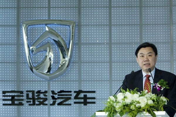 Chen Hong, the new Chairman of SAIC Motor Corp. The Shanghai-based automaker faces a shortage of talent and lacks innovation, Hong said yesterday, asking shareholders for patience with the progress. Photographer: Nelson Ching/Bloomberg