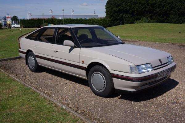Anglia Car Auctions' Rover 820e went for £950 - a few years ago it would have barely raised an eyebrow.