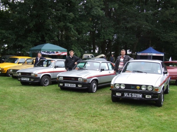 Most people have never seen an Allegro Equipe - let alone three together...