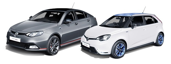 MG 3 and 6 90th Anniversary Limited Editions