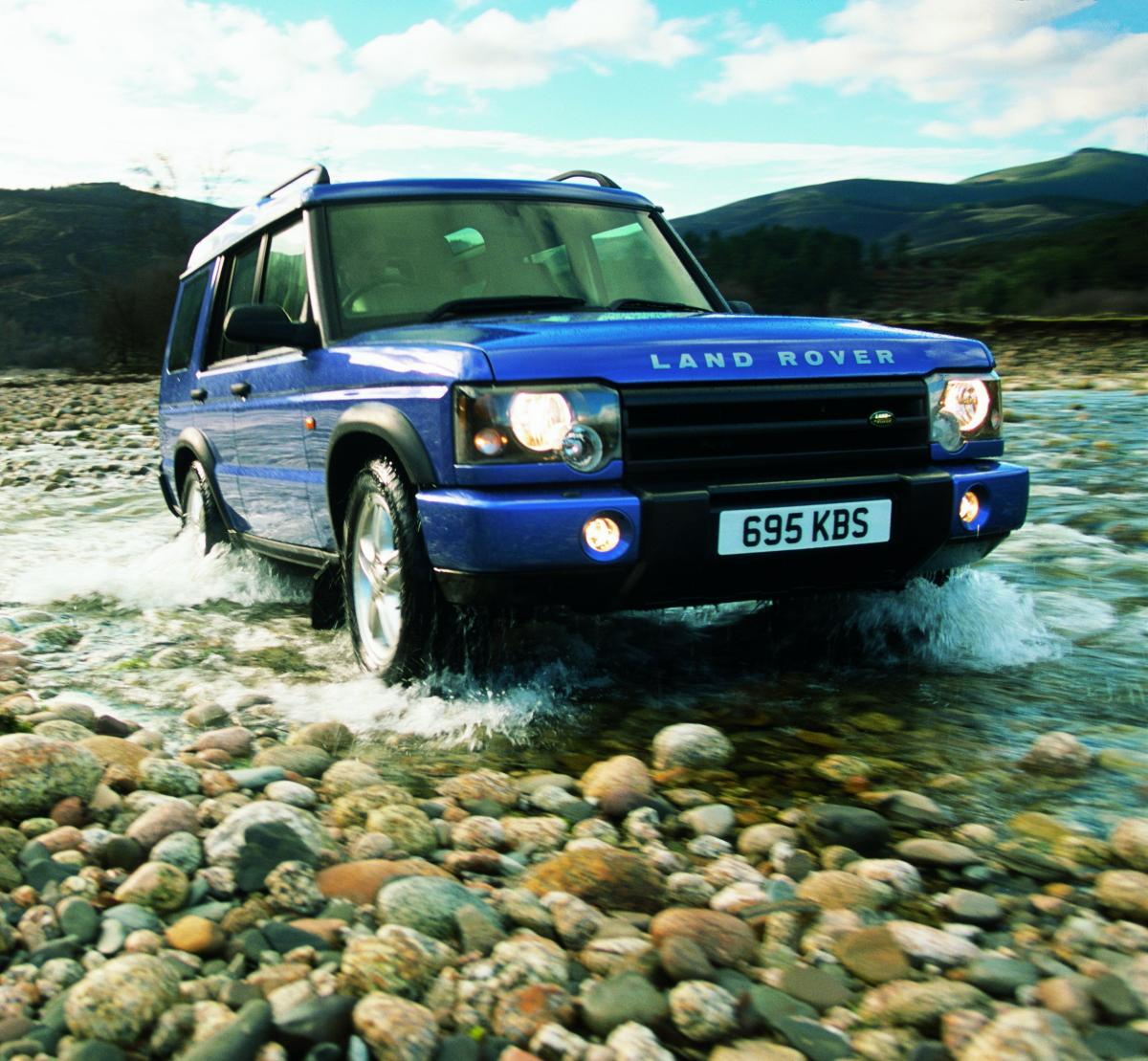 Blog : Raise A Glass To... 25 Years Of The Land Rover