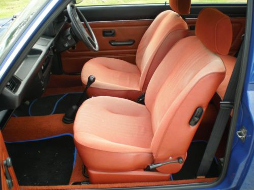 BL's early-80s 'Paprika' interior. Goes well with Nautilus Blue, apparently...