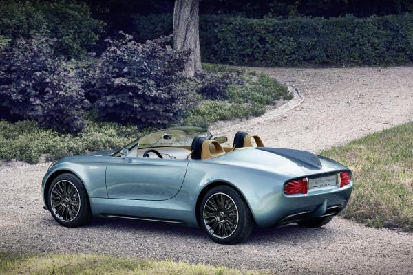 Mini Superleggera Vision rear