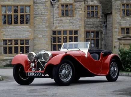 Jaguar Heritage's 1936 Jaguar SS100