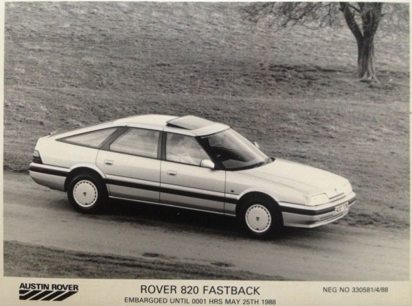 Making the most of its sleek, avant-garde lines, Rover launched its thrusting new flagship fastback... but left the old Ital engine under the bonnet