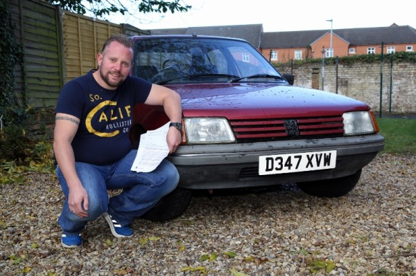 AROline's editor, reacquainted with his old Peugeot and the DVLA FOI requests...