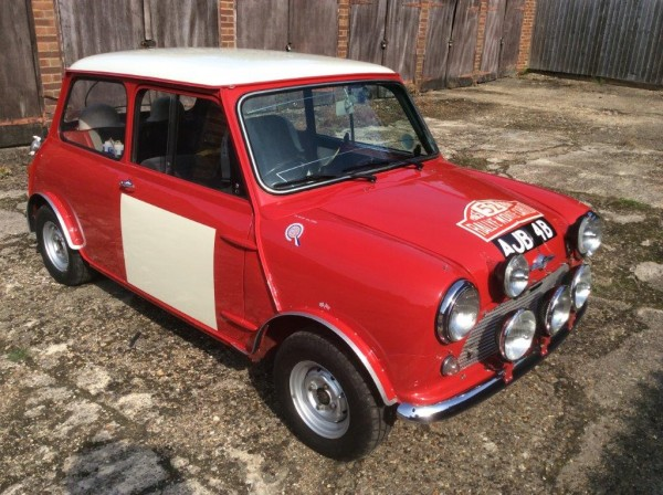Works replica Mini Cooper S with almost works number plate - just one of the highlights in the upcoming ACA sale