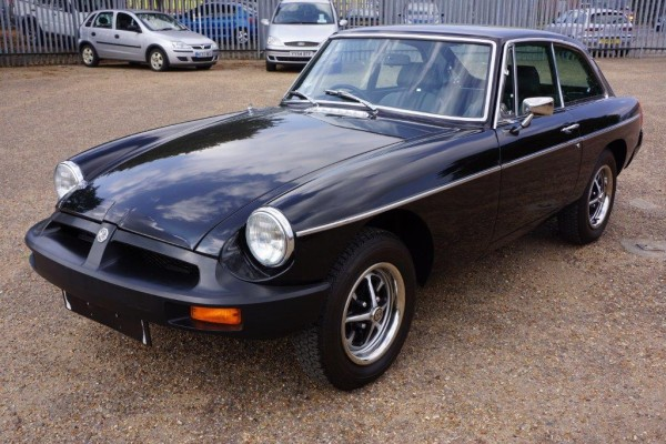 Unregistered MGB GT has just 117 miles on the clock
