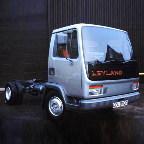 The original design put forward by OGLE that was rejected by Leyland on cost and engineering difficulty.