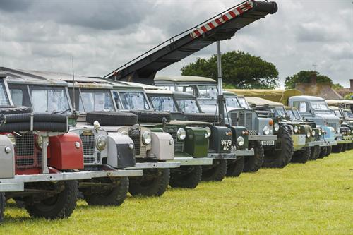 The Dunsfold Collection of Historic Land Rovers
