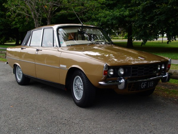 Warren Loveridge's Brown Rover.1