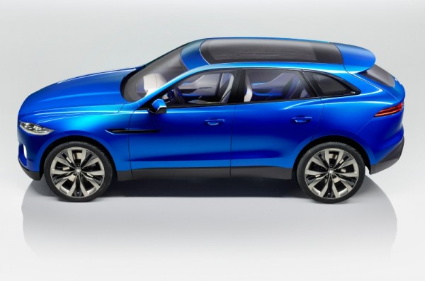 The CX-17 concept, on which the F-Pace will be based