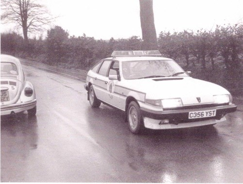C356YST in its heyday, on patrol for Grampian Police