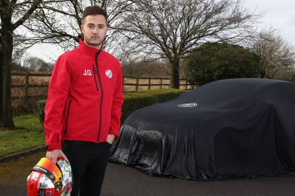 The livery of Jack Goff's BTCC MG6 GT will be unveiled at the Season Launch in March