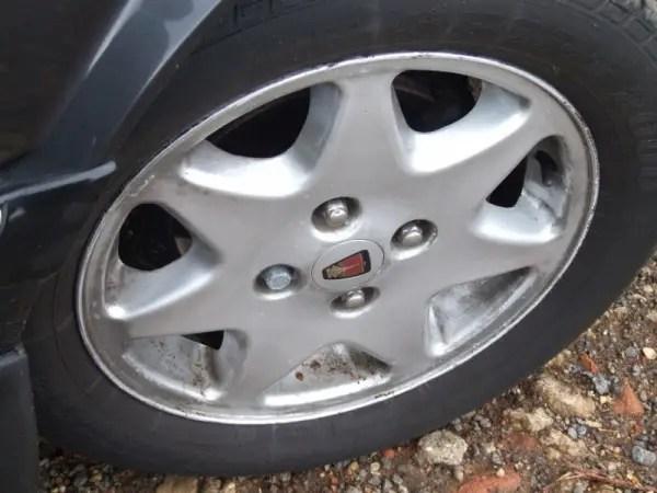 Shabby wheels were definitely letting the side down...