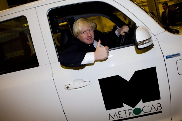 The new Metrocab's number 1 fan