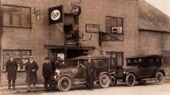 A.E. Wilcox's premises in 1924