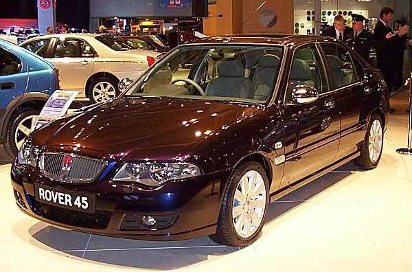 Rover 45 facelift