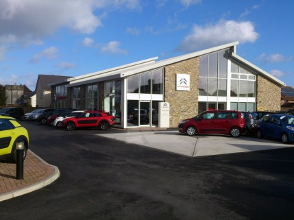 A.E. Wilcox and Son's purpose-built, sales-only Citroën site