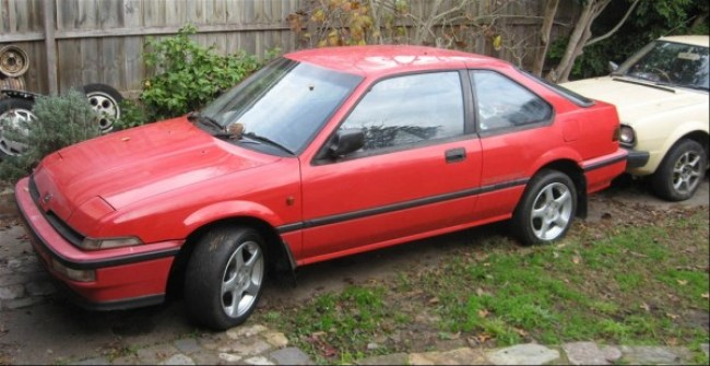 An Australian-market Honda Integra - identical to the 416i other than in number of doors