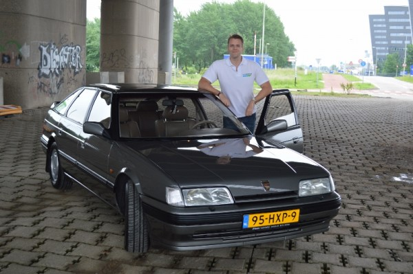 Marc with his 827 Vitesse