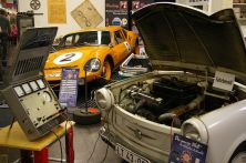 Front: Trabant with automated clutch, back: Melkus RS 1000 from GDR